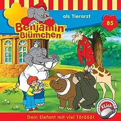 Benjamin als Tierarzt (Benjamin Blümchen 85)