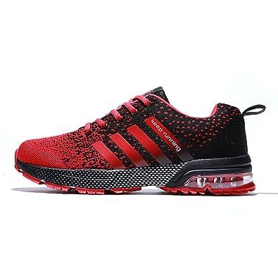 0900b9bd2ff20 Fushiton Womens Running Shoes - Air Cushion Women Tennis Shoe Lightweight  Fashion Walking Sneakers Breathable Women s