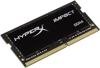 HyperX Impact 16GB DDR4 3200 MHz 16GB DDR4 3200MHz módulo de - Memoria (16 GB, 1 x 16 GB, DDR4, 3200 MHz, 260-pin SO-DIMM, Negro)