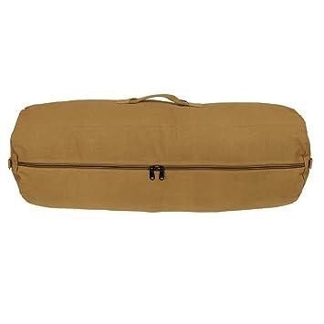 Sport en vakantie Reisaccessoires, bagage RVC Duffle Bag 70 XL Seesack Ø32x90cm Reisetasche Canvas Rucksack 100% Baumwolle