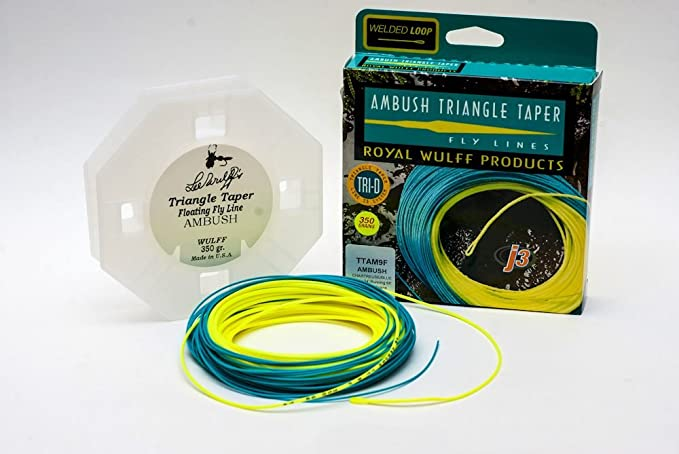 Royal Wulff Fly Line Joan Wulff Signature Taper #8 NEW