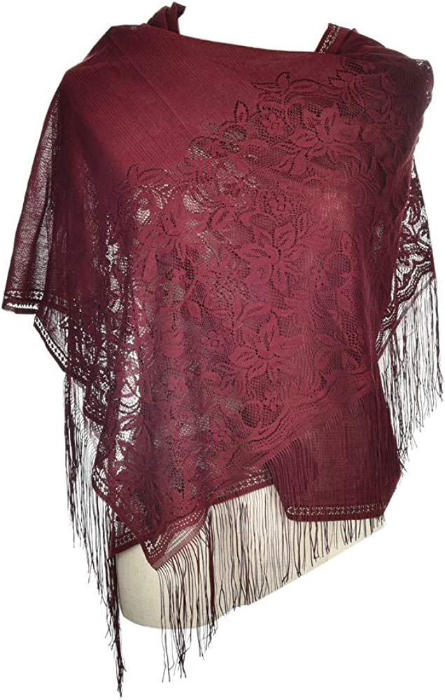 Women's Lace Scarf...