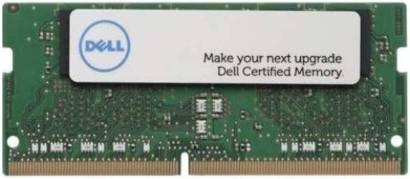 Dell 8GB DDR4 SDRAM Memory Module - 8 GB (1 x 8 GB) - DDR4 SDRAM - 2666 MHz DDR4-2666/PC4-21300 - 1.20 V - Non-ECC - Unbuffered - 260-pin - SoDIMM