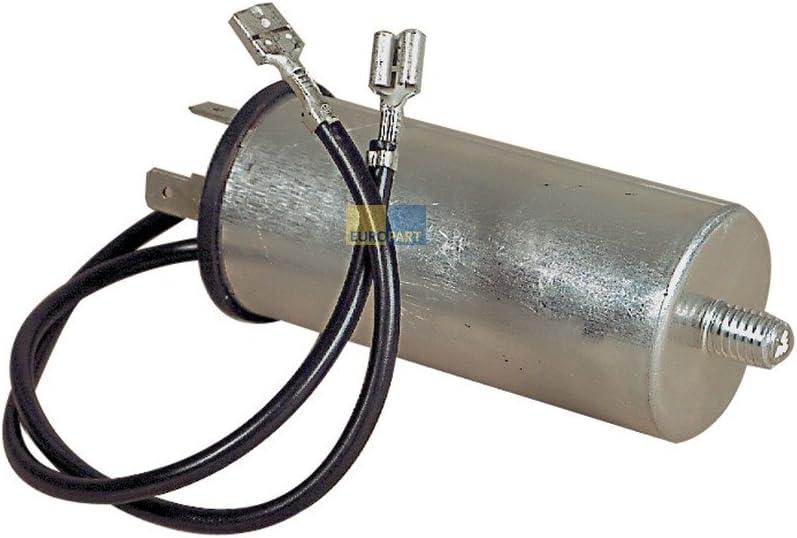 Antiparasitario–0,47µF UF Cancelación del filtro protector para condensador filtro de red lavadora como Miele Brandt 51x 4771
