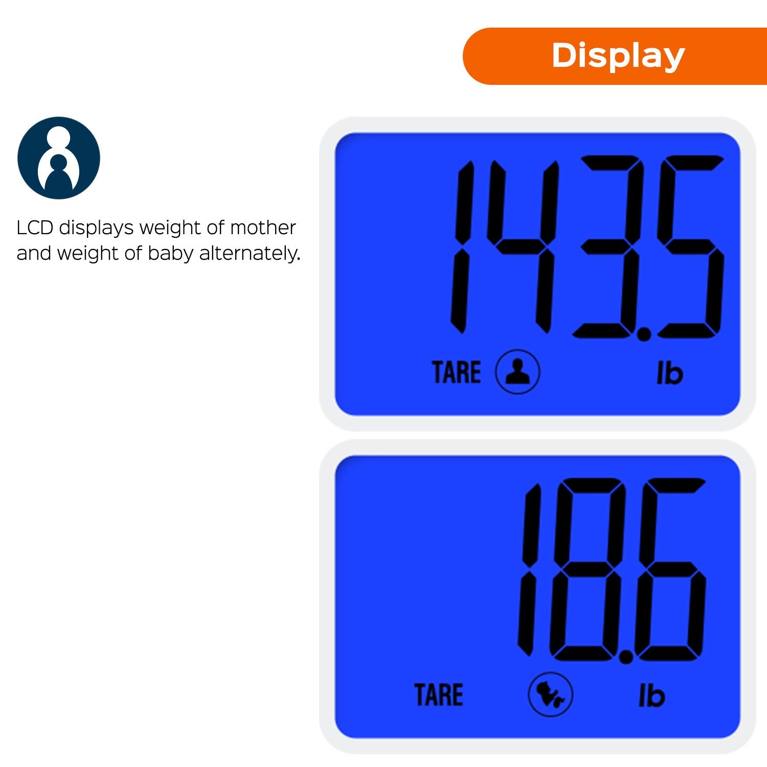 Amazoncom Smart Weigh Smart Tare Digital Body Weight Bathroom - Large display digital bathroom scales for bathroom decor ideas