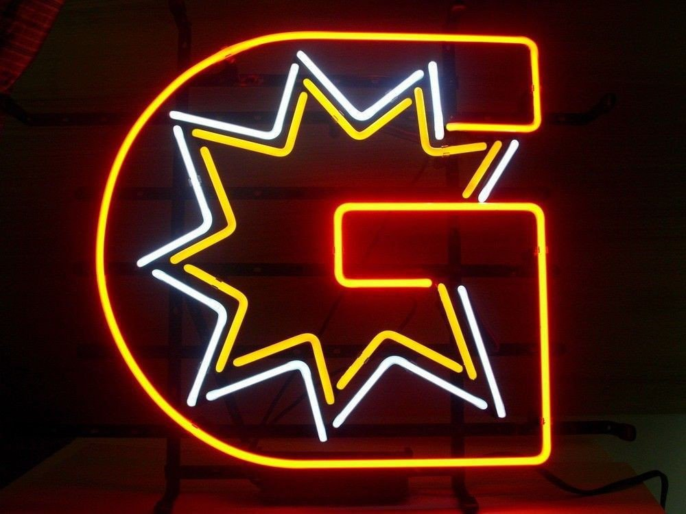 Gottlieb Pinball Machine Neon Sign 17''X14'' Inches Bright Neon Light Display Game Room Man Cave Beer Bar Pub Garage