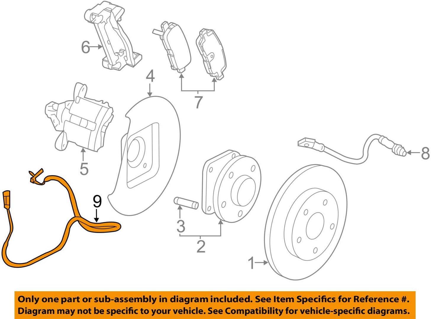 Amazon.com: General Motors 22785582, ABS Wheel Speed Sensor: AutomotiveAmazon.com