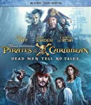 Cover Image for 'Pirates Of The Caribbean: Dead Men Tell No Tales [Blu-ray + DVD + Digital]'