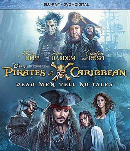 Pirates Of The Caribbean  Dead Men Tell No Tales  Blu Ray