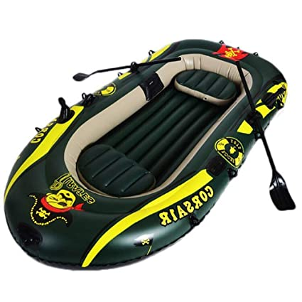 SS Boat Kayak Kayak, Bote Inflable Verde, Adecuado para ...