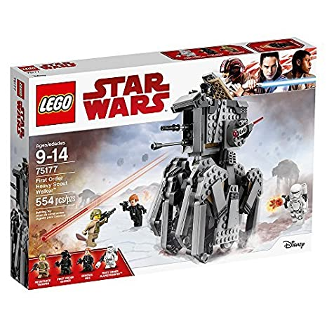 Amazon.com: LEGO Star Wars Episode VIII First Order Heavy Scout ...