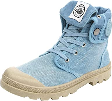 Stiefel Damen,Palladium Art Mode High Top Militär Ankle