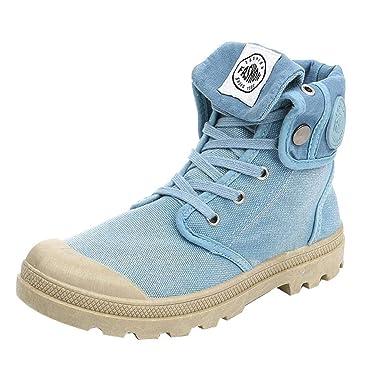 0b0e8693c5a487 Stiefel Damen Boots Frauen Stiefeletten Palladium Art- und Weise  Winterschuhe Militär Leder Boots High-top Knöchel Schneeschuhe Beschuht  Beiläufige Schuhe ...