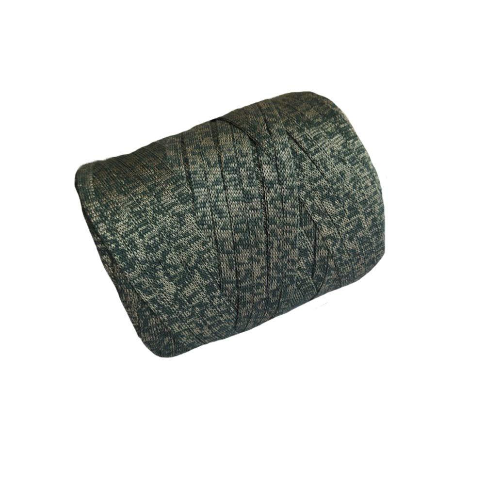 Clisil Glitter T-Shirt Yarn,Lurex Yarn Metallic Yarn for Bags Green Macrame Shining Cord 400g