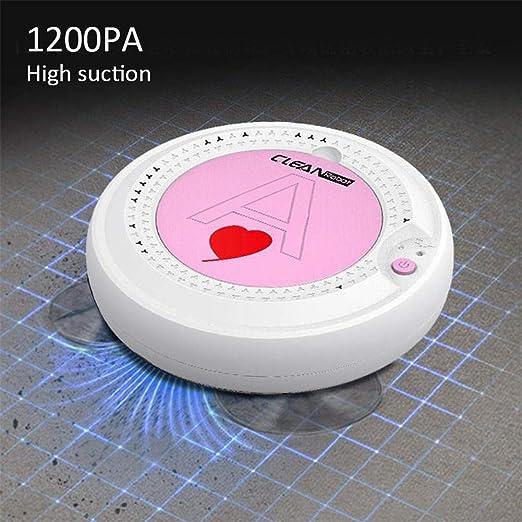 INTELZY Aspirador Robot, Robot Aspirador Pequeño Ultrafino 6.8Cm ...