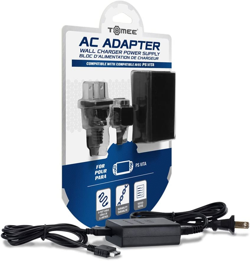 Amazon.com: Tomee AC Adapter for PS Vita: Video Games