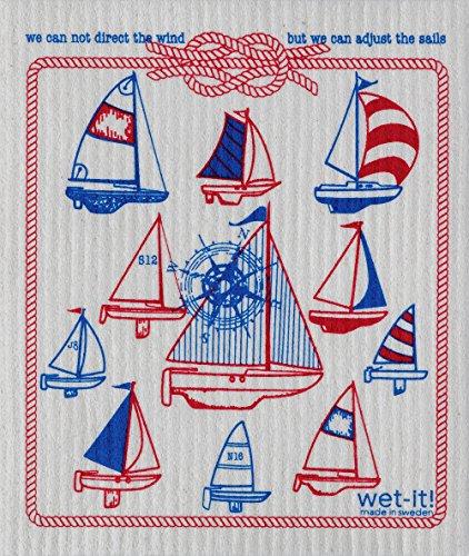 Swedish Treasures Wet-it! Cleaning Cloth, Sails, Super Ab...