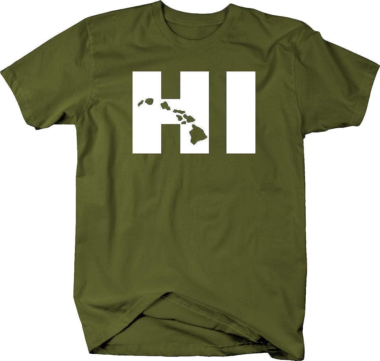4XL Lifestyle Graphix Hi Hawaii Island Life T Shirt