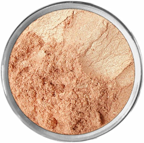 STROBING Highlighter Makeup Loose Powder Mineral Shimmer Eyes Face Color Bare Earth Pigment Minerals Make Up Cosmetics By M*A*D Minerals Cruelty Free - 10 Gram Sized Sifter ()