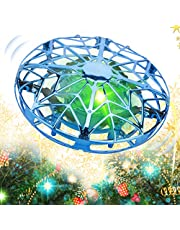 $20 » KToyoung Hand Operated Drones for Kids Adults,Mini Drone Small Flying Ball Toy Mini UFO Drone Toy Indoor Outdoor Motion Sensor Helicopter Ball Toys for Kids 6 7 8 9 10 and Up Years Girls Boys Gift