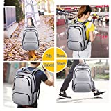 Kuprine-Water-Resistant-Slim-Business-Laptop-Backpacks-for-Men-Lightweight-College-Computer-Backpack-Fits-Most-156-Inch-Laptops-and-Tablets-Anti-Theft-Travel-Backpack-with-Lock