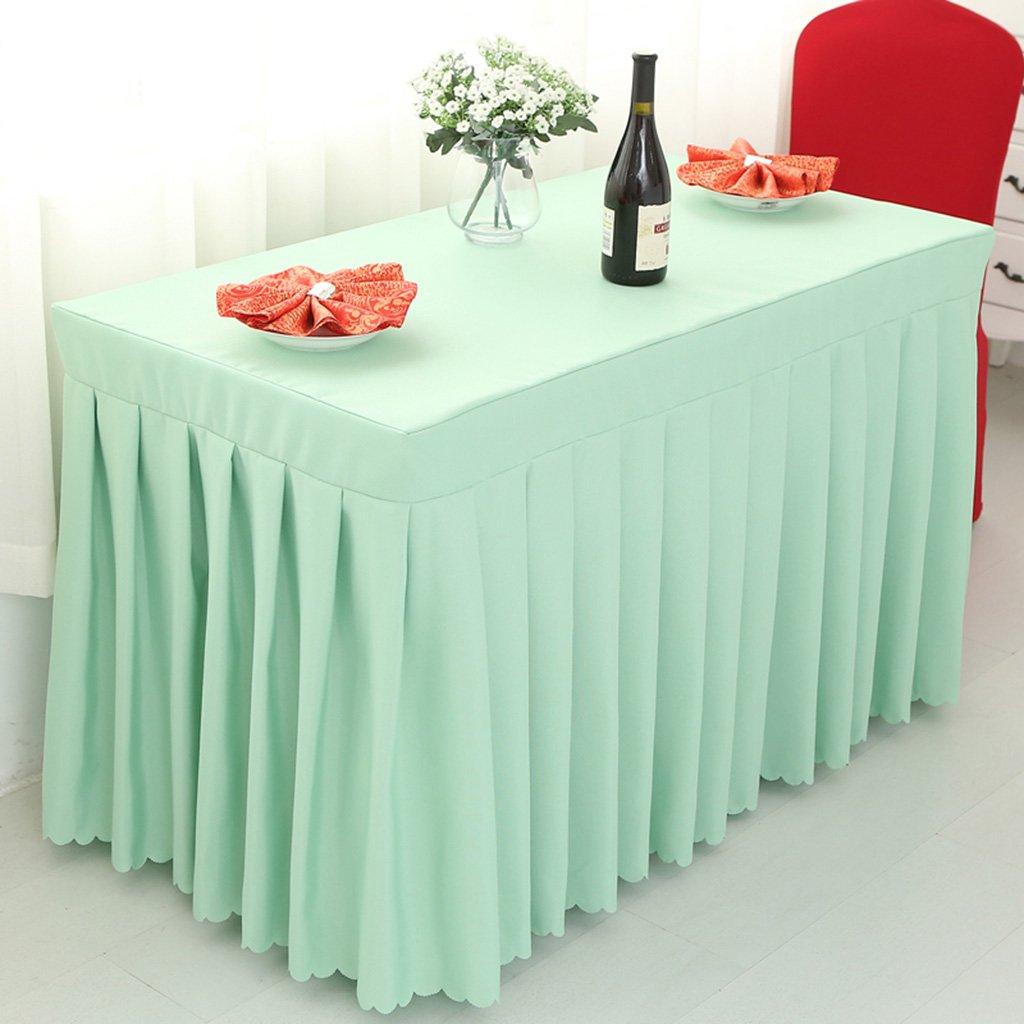 Unbekannt %Tablecloth Tischdecke Tischteppich, Hoteltisch Tischdecke Check-in Tisch Rock Ausstellung Aktivität Mehrfarbiges Tuch Rechteck Tisch Sets blau (Farbe   2 , größe   45  180  75CM) B07G54SGGD Tischdecken Hat einen langen Ruf  | Wu