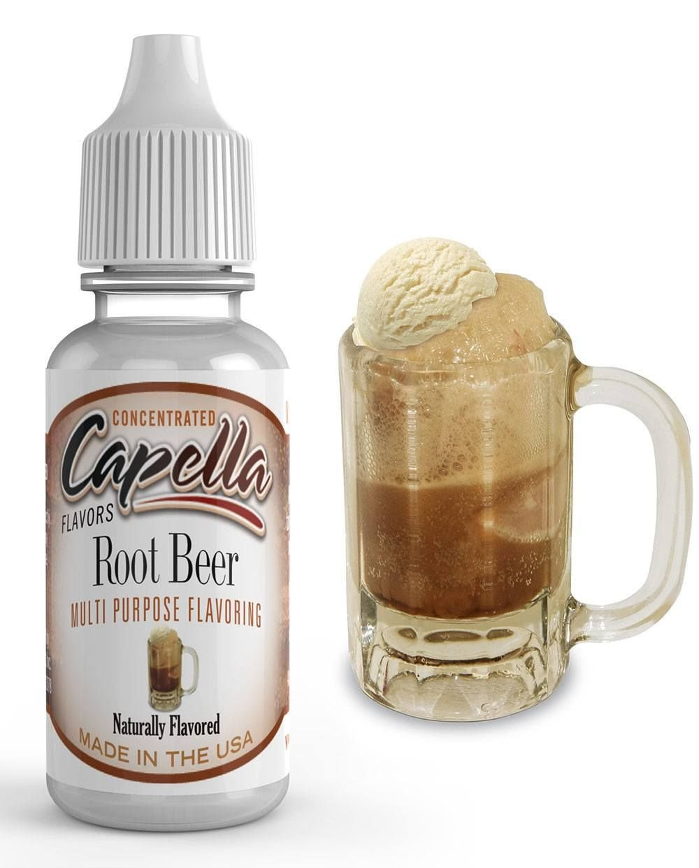 Capella Flavor Drops Root Beer Float Concentrate 13ml