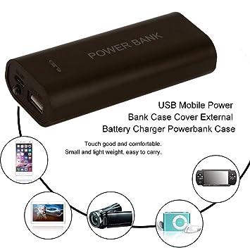 Momorain Multicolor Opcional USB Mobile Power Bank Funda ...