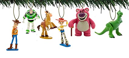 Toy Story Christmas Ornaments.Disney Toy Story 6pc Ornament Set