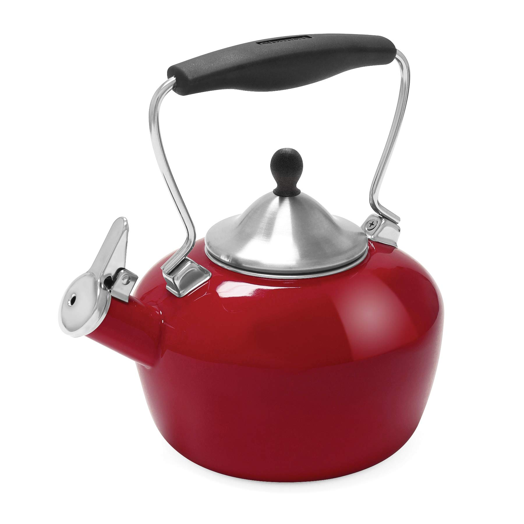 Chantal 37-CAT RA Catherine Teakettle, 1.8 quart, Apple Red