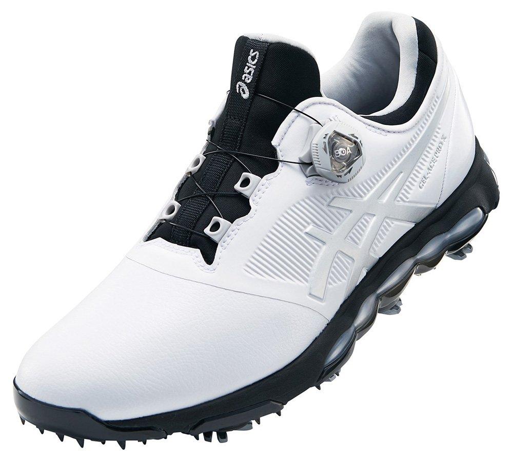 アシックス ASICS シューズ ゴルフシューズ B07BGWS3MN 25.5cm 0193 ホワイト/シルバー