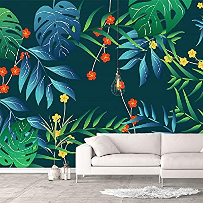 Elegant Portrait, Premium Creation, Wall Murals for Bedroom Green Plants Animals Removable Wallpaper Peel and Stick Wall Stickers