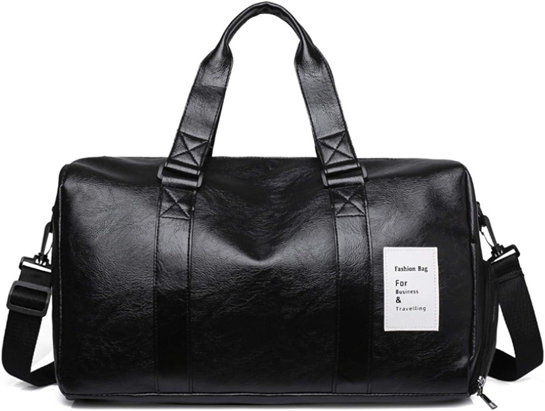 Bolsa de viaje de gran tama/ño impermeable de cuero para fin de semana grande llevar en grande bolsa de transporte para hombre o mujer