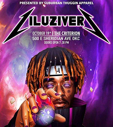 American hip-hop artist Rapper Singer Musician 12 x 18 inch poster Get Motivation Lil Uzi Vert