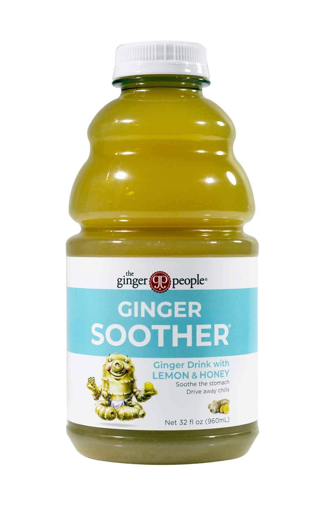 The Ginger People Ginger Soother, 32 Ounce (Pack of 12) by The Ginger People
