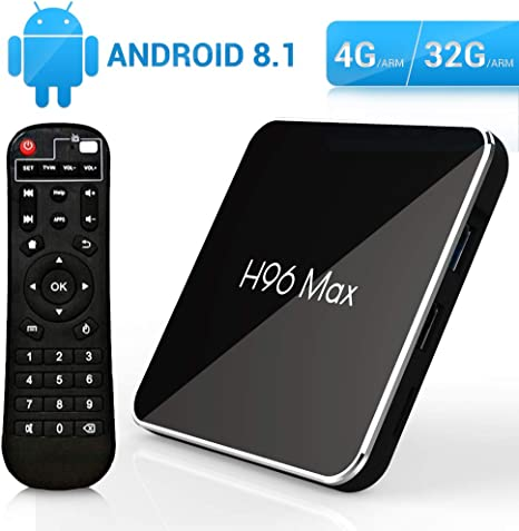 NEW T9 TV BOX Android 8.1 Quad Core 2.4G Dual-band WiFi Bluetooth High Speed FZC