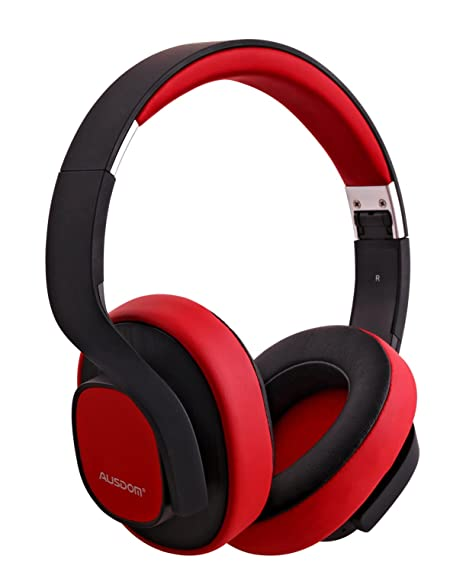 Amazon.com  Ausdom M08 Wireless Bluetooth Stereo Headset And Noise  Reduction With Mic 4c292e49ed
