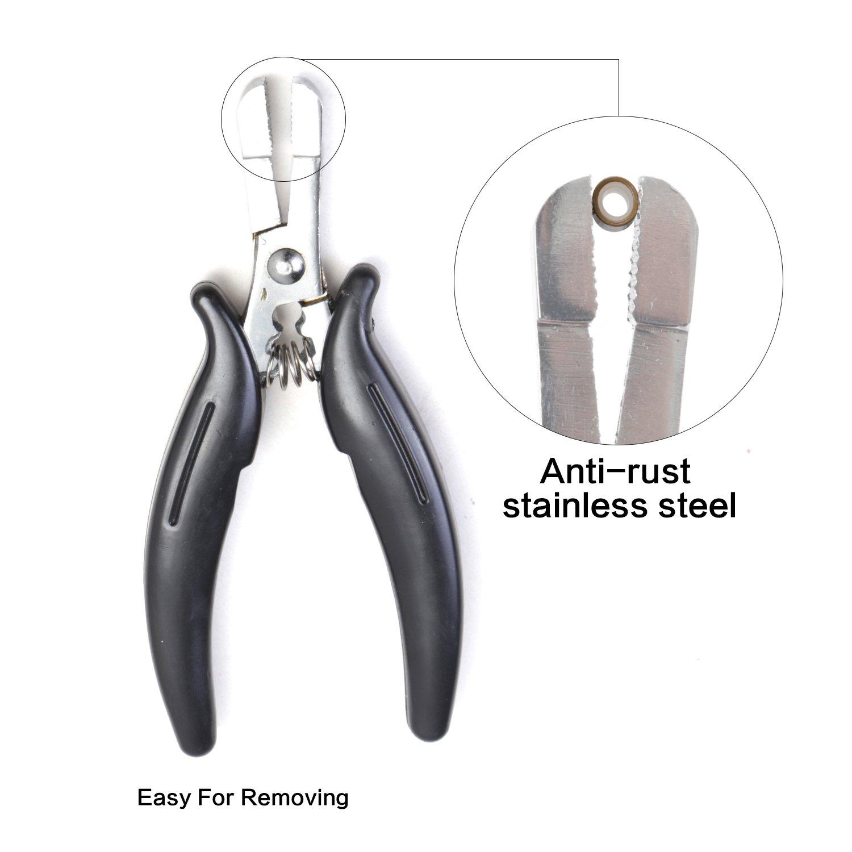 Amazon 25 Pieces Heat Shield Guards For Hair Extension Bonding