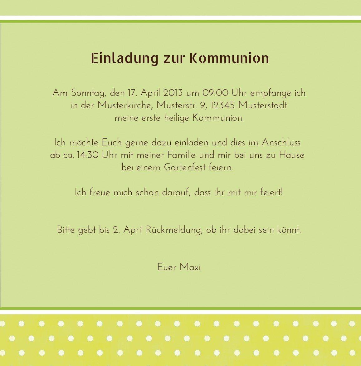Kartenparadies Einladungskarte zur Kommunion Kommunion Kommunion Kommunionskarte Kreuzhostie, hochwertige Einladung als Kommunionskarte inklusive Umschläge   10 Karten - (Format  145x145 mm) Farbe  MattGrün B01N9XFFX2 | Zart  | Verrückte Preis  | Hochwertige Prod 476715