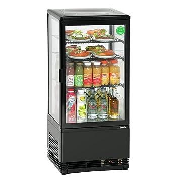 Bartscher Mini-Kühlvitrine 78L, schwarz: Amazon.de: Elektronik