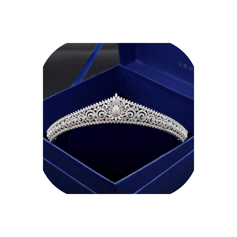 Paved Zircon Crown Full...