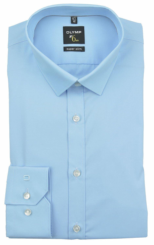 OLYMP - Camisa formal - Básico - Clásico - Manga Larga - para hombre