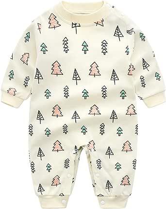 N / A Pijama para bebés y niñas, 100% algodón, bonito excavador, jirafa, pijama, pijama, para bebés y niños, mono unisex para recién nacidos 3 6 9 12 ...