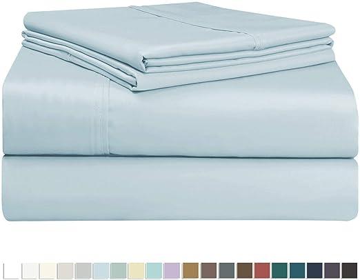 Juego de sábana de 400 conteo de hilos 5 piezas, de 100% algodón ...