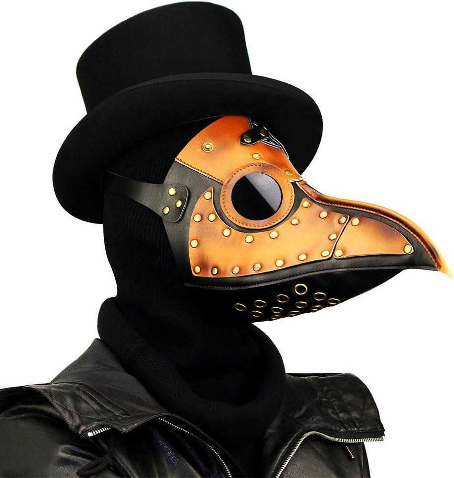 Máscara de Doctor Plaga Steampunk Ilyssm