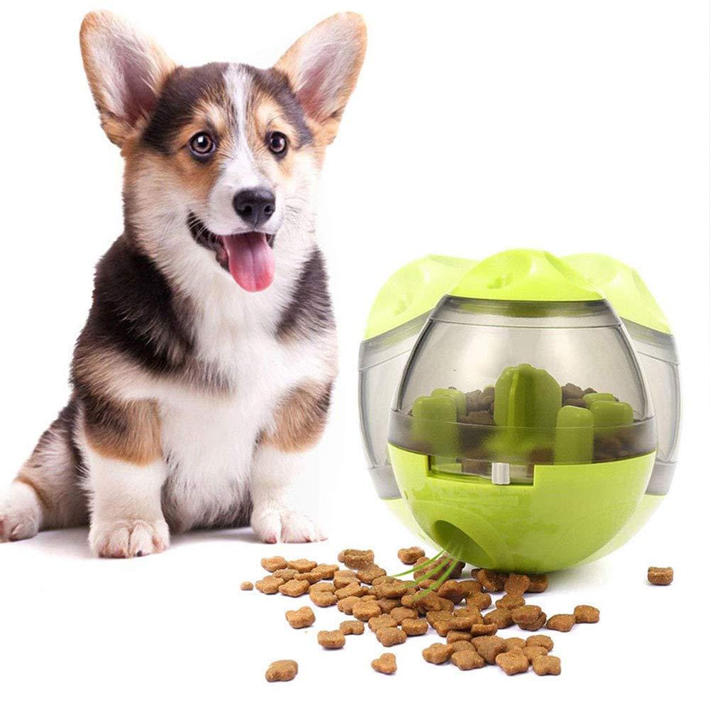 Dog Treat Dispenser >> Amazon Com Naturespace Dog Treat Dispenser Ball Toy Pet Food Ball