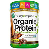 Vegan Protein Powder | Purely Inspired Organic Protein Powder | Plant Based Protein Powder for Women & Men | Brown Rice…