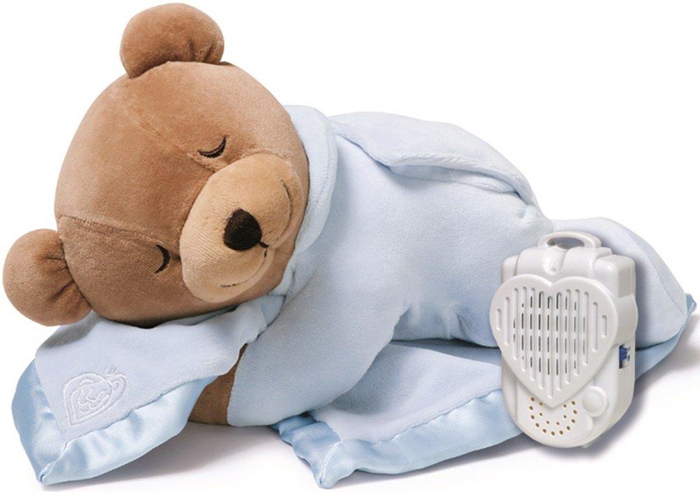 Prince Lionheart Original Slumber Bear with Silkie Blanket - Blue