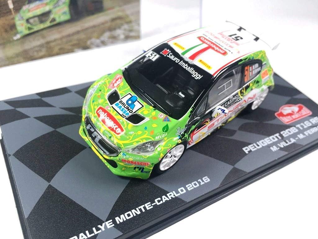 BR39 Voiture 1//43 Peugeot 208 T16 R5 Rallye Monte-Carlo 2016 Villa OPO 10