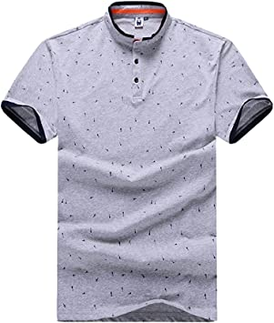 Gladiolus Camiseta Deportiva Moda Polo Shirt con Manga Corta para ...